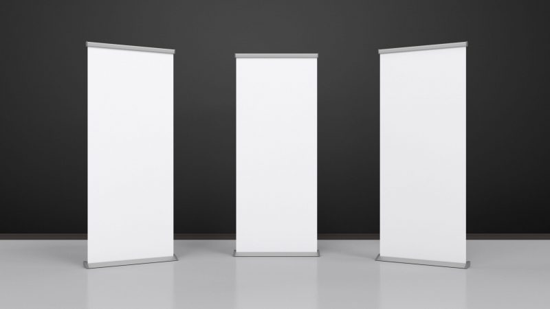 Roller Banner Design – What Every Person Must Look Into